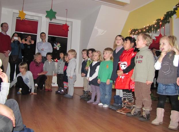 Regnum Christi Weihnachten in unterschiedlichen Sprachen